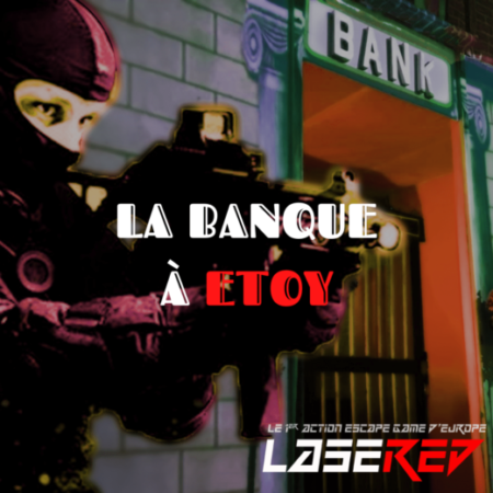 Lasered Escape Game LaserGame Etoy