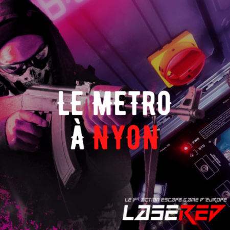 Lasered Escape Game Laser Game Nyon